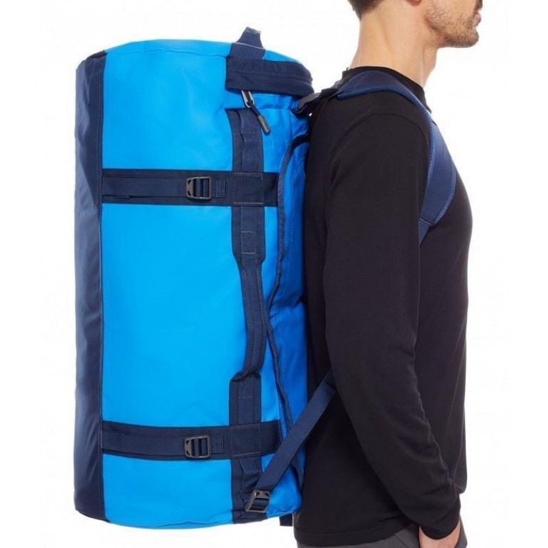THE NORTH FACE BASE CAMP DUFFEL - L - BOMBER BLUE COSMIC BLUE - TNF Bags - The  North Face - View By Brand 2d3e59fc63