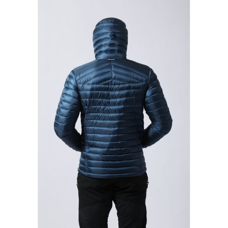 f762d5381224 MONTANE FEATHERLITE DOWN JACKET MENS - NARWHAL BLUE - Down Jackets -  Insulated Jackets - Mens - Clothing - View by Category