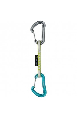 EDELRID NINETEEN G QUICKDRAW SET - 10CM - ICEMINT/OASIS