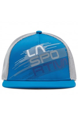 LA SPORTIVA TRUCKER HAT STRIPE EVO - NEPTUNE/CLOUD