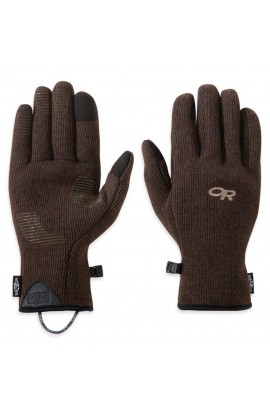 OUTDOOR RESEARCH FLURRY SENSOR GLOVES MENS - EARTH
