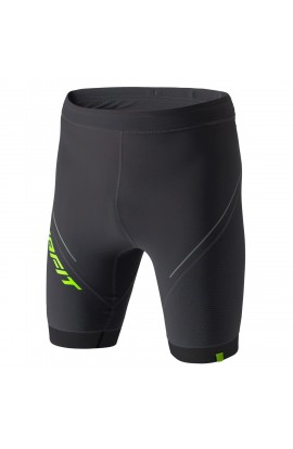 DYNAFIT VERTICAL SHORT TIGHTS MENS - ASPHALT/LIME