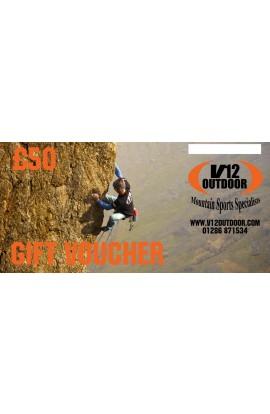 V12 OUTDOOR GIFT VOUCHER - £50