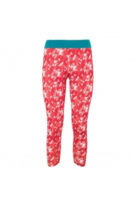 LA SPORTIVA SOLO LEGGINGS WOMENS - BERRY/CORAL