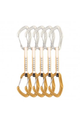 DMM ALPHA TRAD QUICKDRAW - 12CM - GOLD - 5 PACK