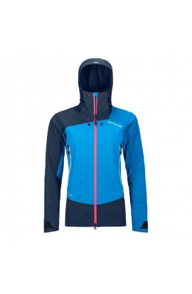 ORTOVOX WESTALPEN SOFTSHELL JACKET WOMENS - SAFETY BLUE