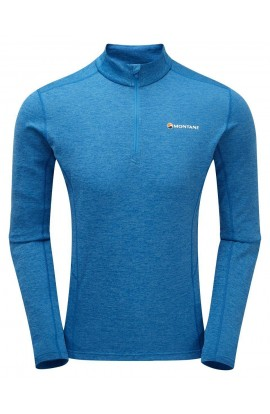 MONTANE DART ZIP-NECK - ELECTRIC BLUE