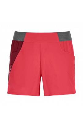 ORTOVOX PIZ SELVA LIGHT SHORT WOMENS -  HOT CORAL