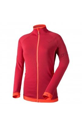 DYNAFIT W ELEVATION 2 THERMAL POLARTEC JACKET - HIBISCUS