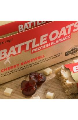 BATTLE OATS FLAPJACK - CHERRY BAKEWELL