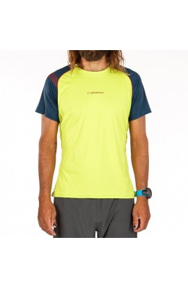 LA SPORTIVA MOTION T-SHIRT - APPLE GREEN/OPAL
