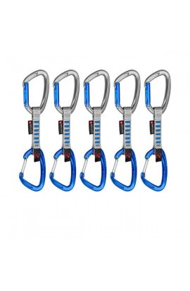 MAMMUT CRAG INDICATOR WIRE EXPRESS SETS - 10CM 5 PACK - SILVER/ULTRAMARINE
