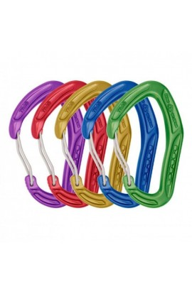 DMM ALPHA TRAD WIREGATE - COLOURED - 5 PACK