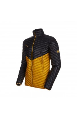 MAMMUT BROAD PEAK LIGHT JACKET MEN - BLACK/GOLDEN