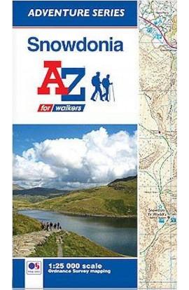 SNOWDONIA: A-Z ADVENTURE MAP - 1:25000