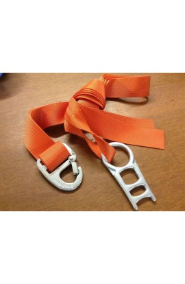 SLACKLINE TOOLS TREESLING 2.8M WITH SLACK-RING ST - ORANGE