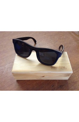 DEWERSTONE CUMULUS SUNGLASSES - POLARIZED - MAPLE WOOD