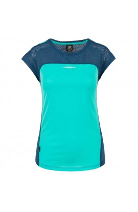 LA SPORTIVA TRACTION T-SHIRT - AQUA/OPAL