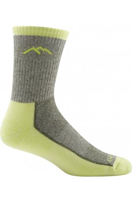 DARN TOUGH MENS MOUNTAINEERING MICRO CREW EXTRA CUSHION - CITRON (1940)