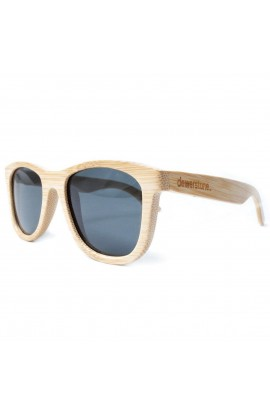DEWERSTONE CIRROS SUNGLASSES - POLARIZED - NATURAL BAMBOO