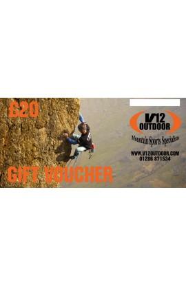 V12 OUTDOOR GIFT VOUCHER - £20