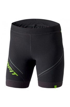 DYNAFIT W VERTICAL SHORT TIGHTS - ASPHALT/LIME