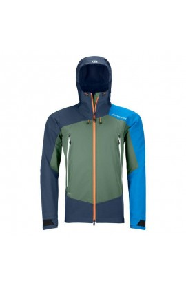 ORTOVOX WESTALPEN SOFTSHELL JACKET MENS - GREEN FOREST