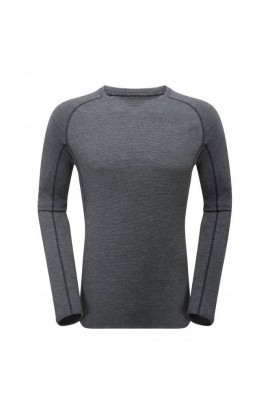 MONTANE PRIMINO 220 LONG SLEEVE T-SHIRT - BLACK
