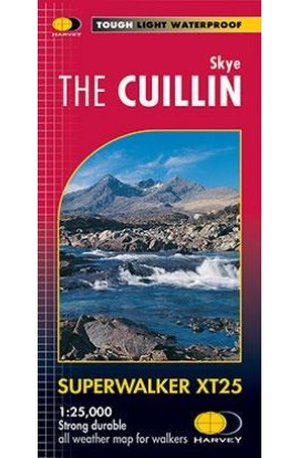 HARVEY SKYE THE CUILLIN SUPERWALKER MAP XT25
