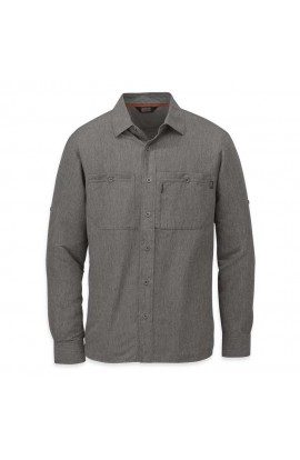 OUTDOOR RESEARCH WAYWARD L/S SHIRT - M - CHARCOAL