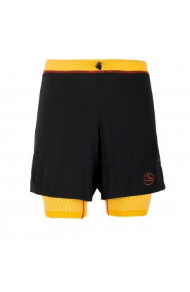 LA SPORTIVA RAPID SHORT - BLACK/YELLOW