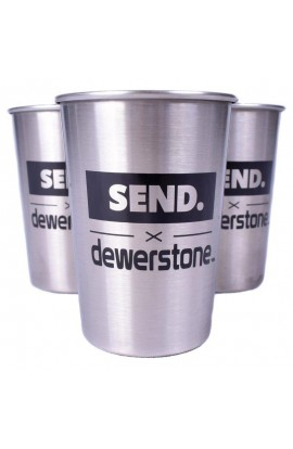 DEWERSTONE X SEND STAINLESS STEEL 8OZ TUMBLER