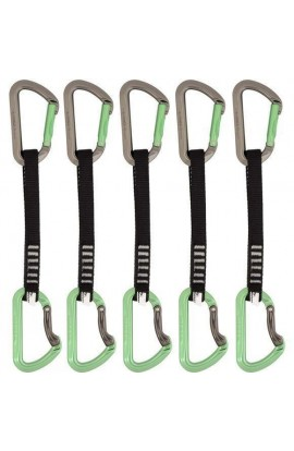 DMM AERO QUICKDRAW - 18CM - GREEN - 5 PACK