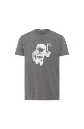 BLACK DIAMOND SPACESHOT TEE - CHARCOAL HEATHER