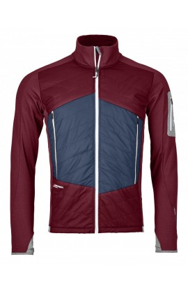 ORTOVOX SWISSWOOL PIZ ROSEG JACKET MENS - DARK BLOOD