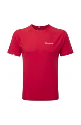 MONTANE SONIC TEE MENS - ALPINE RED