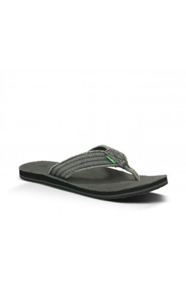 SANUK FRAID NOT FLIP FLOP - CHARCOAL