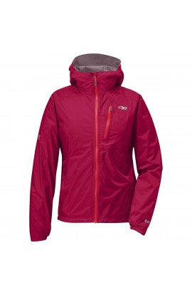 OUTDOOR RESEARCH HELIUM II JACKET WOMENS - SCARLET