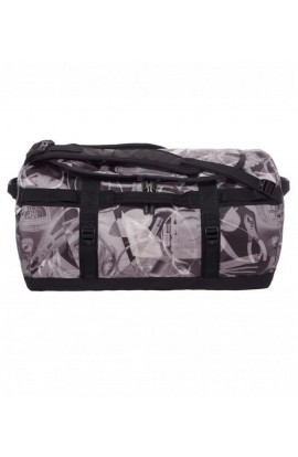 THE NORTH FACE BASE CAMP DUFFEL AW15 - S - TNF BLACK X-RAY PRINT