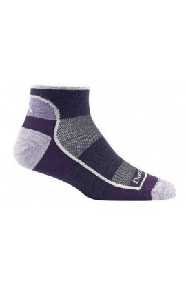 DARN TOUGH WOMENS 1/4 SOCK ULTRALIGHT NON CUSHION - WOMENS TEAM (1709)