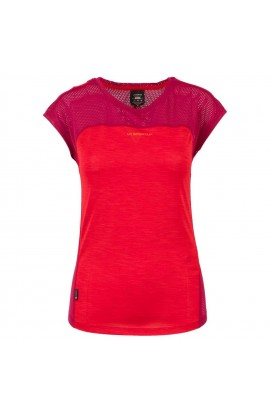 LA SPORTIVA TRACTION T-SHIRT - GARNET/BEET