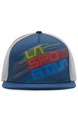 LA SPORTIVA TRUCKER HAT STRIPE EVO - OPAL/CLOUD