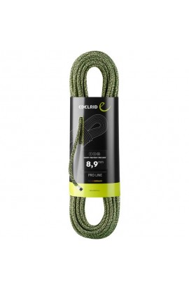 EDELRID SWIFT PROTECT PRO DRY - 80M - NIGHT/GREEN