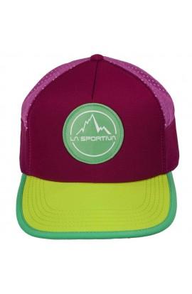 LA SPORTIVA TRAIL TRUCKER - PLUM/APPLE GREEN