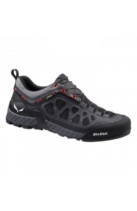 SALEWA FIRETAIL 3 GTX MENS - BLACK OUT/PAPAVERO