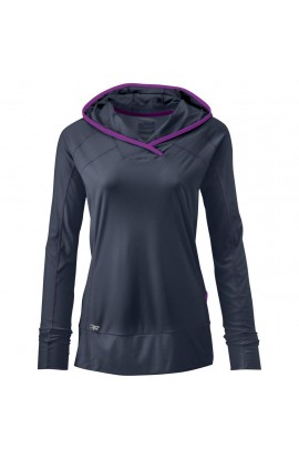 OUTDOOR RESEARCH ECHO HOODY WOMENS - NIGHT/ULTRAVIOLET