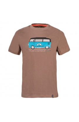 LA SPORTIVA VAN T-SHIRT - FALCON BROWN