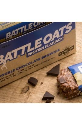 BATTLE OATS FLAPJACK - DOUBLE CHOC BROWNIE
