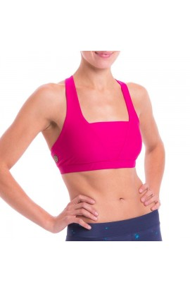 3RD ROCK AURORA BRA TOP - MAGENTA