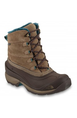 THE NORTH FACE CHILKAT III WOMENS - 5UK - CUB BROWN/MEDITERRANEAN GREEN